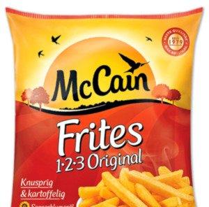 [REWE BUNDESWEIT/ KAUFLAND EVTL.BUNDESWEIT] McCain 1-2-3 Frites Original 750g für 0,61€ (Angebot+Coupon)