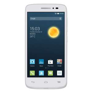 [real.de] Alcatel Onetouch POP2 5042D LTE Dual SIM in weiß 100€