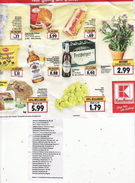 Lokal Großraum Berlin: Coppenrath & Wiese Torte und andere Angebote am 04.10.2015 von 13 - 18 Uhr bei Kaufland