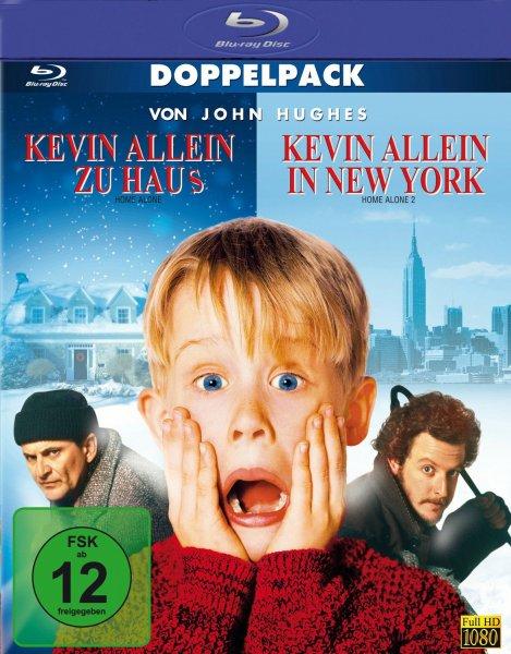 [Müller Sonntagsknüller] Kevin allein zu Haus / Kevin allein in New York auf Blu Ray für 7,99 €