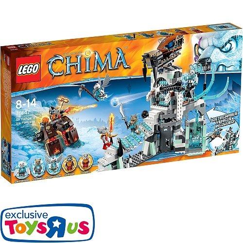 LEGO Legends of Chima - 70147 Sir Fangars Eisschloss bei Toys R Us für 49,95