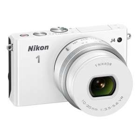 "[Redcoon HotDeal] Nikon™ - Systemkamera ""1 J4 Kit"" (18MP,3"" LCD-Display,Full HD Videofunktion,inkl.10-30mm PD-Zoom Objektiv,Tasche,16GB Speicherkarte),Weiß oder Orange für je 199,-€ Versandkostenfrei"
