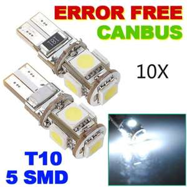 Canbus T10-W5W 360° LED Standlicht, Glühbirnen - 10er Pack bei allbuy