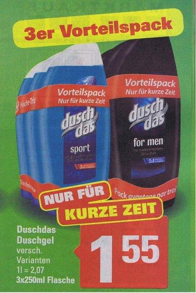 [Marktkauf Minden]  ab 5.10 DuschDas 3er Pack für 1,55€