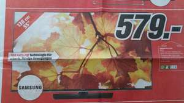 [lokal Jena] MediaMarkt Neueröffnung - Samsung UE55J6150 Full-HD TV für 579