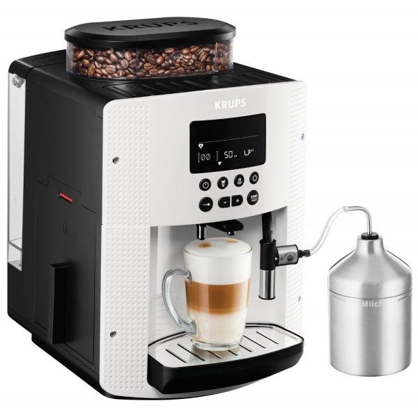 [Saturn] KRUPS EA 8161 Kaffeevollautomat (1,8 Liter Wassertank, 15 bar, Metall-Kegelmahlwerk, beheizte Tassenablage, Timer) für 294€ versandkostenfrei