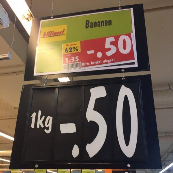 [lokal] Kaufland Bananen 1kg / Berlin Spandau