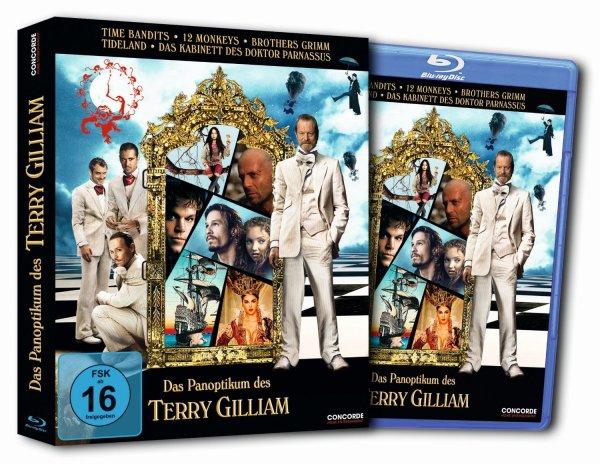 [Blu-ray] Das Panoptikum des Terry Gilliam (in abgedrehter Pop-Up-Verpackung) (5 Filme) @ Amazon / Bücher.de