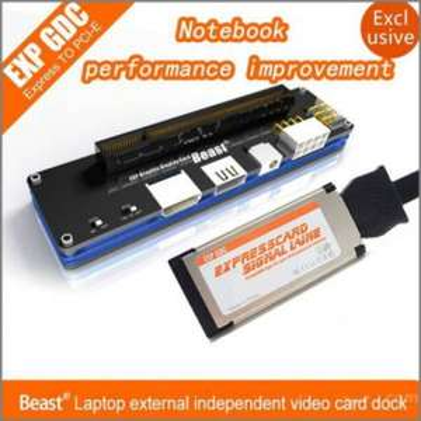 Externer Grafikkarten-Adapter - EXP GDC Beast Laptop + Expresscard-Kabel (allbuy)