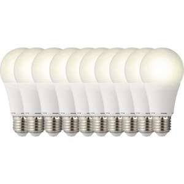 [CONRAD] LED-Lampen (einfarbig) 119 mm sygonix 230 V E27 9.5 W = 60 W Warmweiß EEK: A+ Glühlampenform Inhalt 10 St. für 33 Euro.