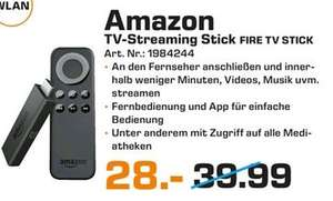 [Lokal Saturn Hannover u. Isernhagen] Amazon Fire TV Stick für 28,-€