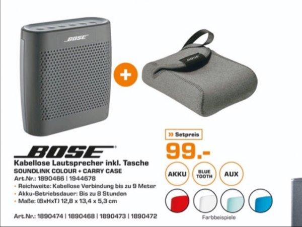 [Lokal Saturn Bremen City] Bose Soundlink Colour + Tasche für 99€
