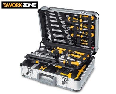 [OFFline] ALDI SÜD, ab heute - WORKZONE® Werkzeugkoffer, 129-teilig