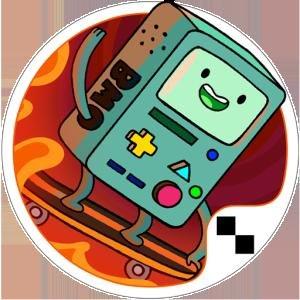 Play Store Ski Safari - Adventure Time