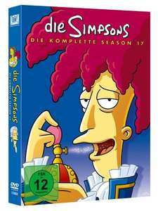 The Simpsons - Die komplette Season 17 [Collector's Edition] [4 DVDs] @ Amazon Prime