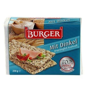 Burger, Knäckebrot Mit Dinkel, 250 g