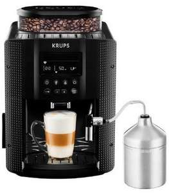 50€ Coupon für Krups Kaffeevollautomaten mit Display und Auto Cappuccino System EA8160 und EA8161 auf Amazon