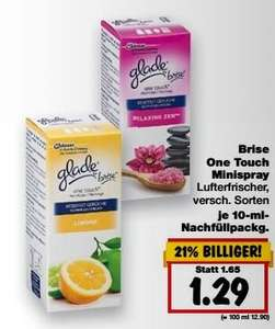 [KAUFLAND] KW41 Glade by Brise One Touch Minispray