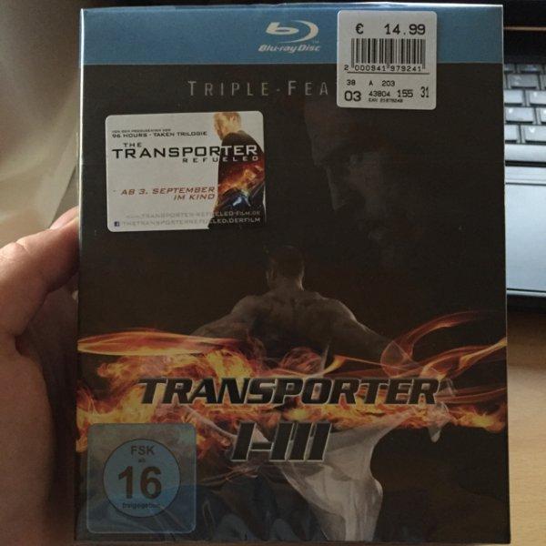 "[lokal] Real,- Königsbrunn ""Transporter I-III"" Blu-Ray"