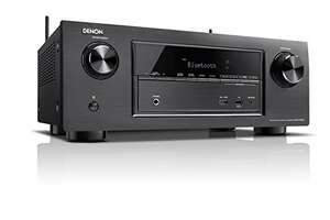 Denon AVR-X2100W 7.2 Surround-AV-Receiver (WLAN, Spotify Connect, Internet-Radio, 7+1 HDMI in, 2 HDMI out, DLNA, AirPlay, 150 Watt) schwarz 339,64 € @Amazon.it