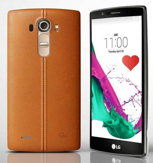 [Ebay] LG G4 H815 32GB Leder braun / metallic-grey für 379,90 €