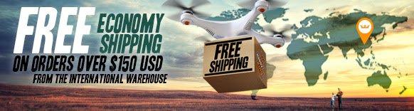 MODELLBAUER aufgepasst! Kostenloser Versand bei HobbyKing ab 150 $ Bestellwert (International Warehouse) z.B. Bixler, Quadrocopter