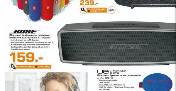 [Lokal Göttingen] Bose Soundlink Mini 2 für 159€ bei Saturn