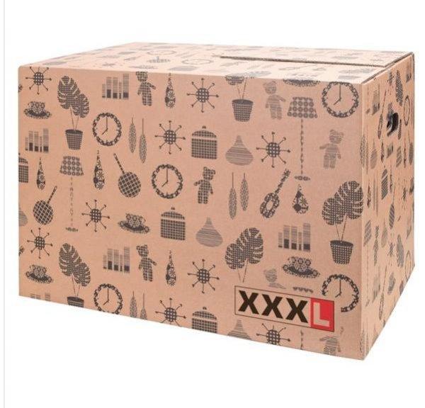 [XXXL] Umzugskartons (59x39x39cm, max. 45kg) für 1€ pro Stück, z.B. 10 für 13,95€ statt 17,20€