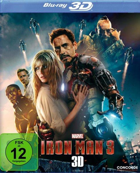 IRON MAN 3 als 3D BluRay für 7.99€ bei SATURN in Essen Limbecker Platz. Mit oder ohne 3D Cover.