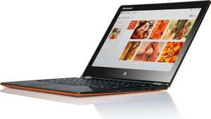 "Lenovo Yoga 3 11 Convertible - Core M, 8GB RAM, 128GB SSD, 11,6"" Full-HD IPS Touch, 1,1kg, 7 1/2 h Akku, Win 8.1, orange - 531,99€ @ Computeruniverse.net"