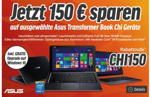 Asus Transformer Book T100CHI-FG001B bei Notebooksbilliger 296€ anstatt idealo 396,89€