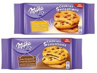 [THOMAS PHILIPPS]KW42: Milka Cookies Sensations Innen Schokoladig oder Innen Soft 156g für 0,99€