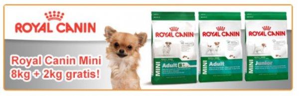 [Futterplatz.de] HUNDE 2kg Royal-Canin-Trockenfutter GRATIS bei der 8kg Bestellung der selben Sorte