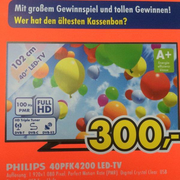 (Lokal Duisburg) Philips 40PFK4200 LED-TV
