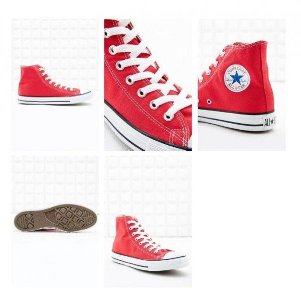 "(UO)Converse All Star ""Chuck Taylor"" Sneaker in Rot/Weiß für"