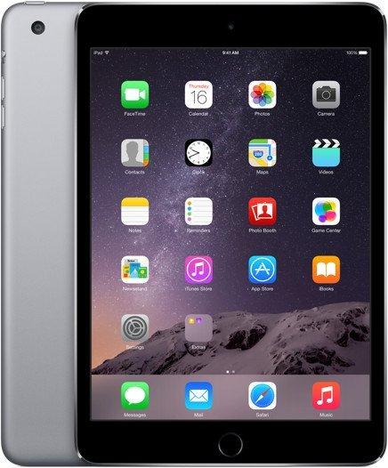 "Apple iPad mini 3 LTE 128GB grau - Zustand ""wie neu"", 18 Monate Garantie - 486,98€ @ rebuy.de"