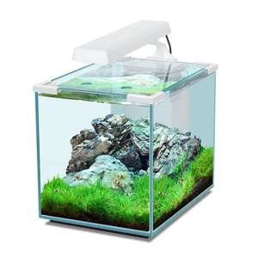 [lokal - Hornbach] Aquarienset Nano Cubic 40 LED schwarz/weiß