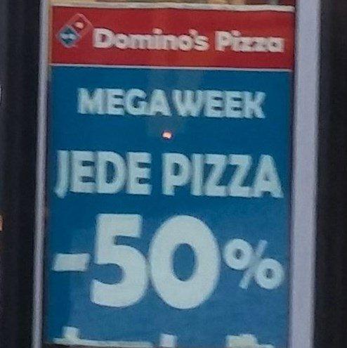 "[Lokal Berlin] ""Mega Week - 50% auf Pizza"" Domino's Pizza - Checkpoint Charlie"
