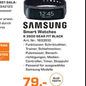 Gear Fit Black Samsung Coral R3500