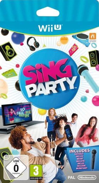 (Wii U/Prime) Sing Party inkl. Mikro für 15,91 €