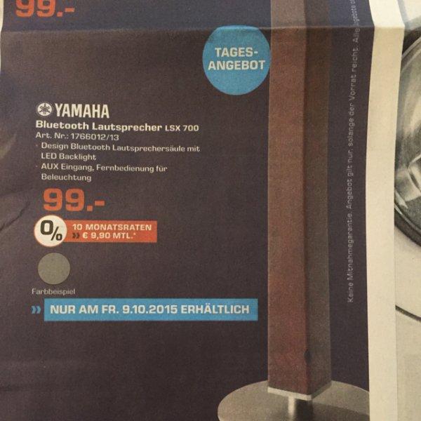 [Lokal Dortmund] Yamaha Bluetooth Lautsprecher LSX 700 - 99€ - Idealo: ab 174€!