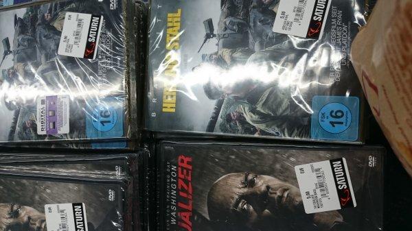 Herz aus Stahl und the equalizer dvd 5€ Saturn Braunschweig