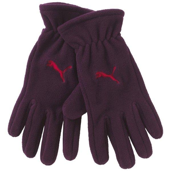 PUMA / Handschuhe Fundamentals Fleece Gloves / Größe XS / Farbe: Potent Purple-Cerise / @AmazonPrime