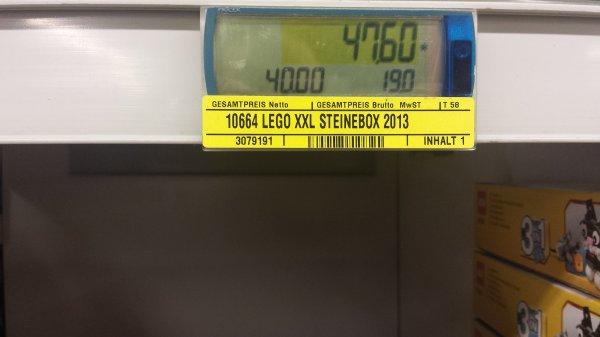 10664 lego Steinebox XXL 1600 teile bei metro
