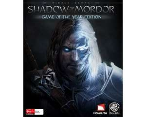 [STEAM] Middle-Earth: Shadow of Mordor Game of the Year Edition für 9,44 @Instant-Gaming.com