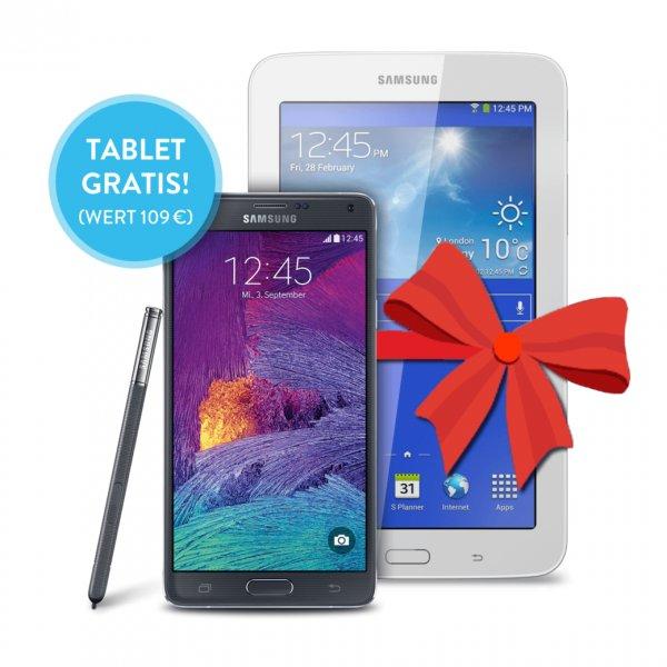 Bundle Samsung Note 4 + Galaxy Tab 3 bei Base