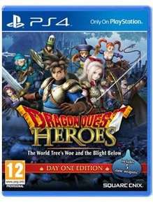 Dragon Quest Heroes: The World Tree's Woe & The Blight Below PS4 (PEGI)