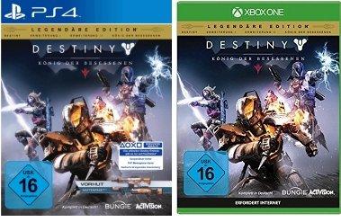 [Saturn] Destiny: König der Besessenen (Legendäre Edition) - PlayStation 4 ab 42,-€ und XBO an 44,-€
