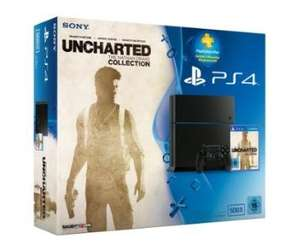 [Amazon.de] PlayStation 4 - Konsole (500GB) inkl. Uncharted: The Nathan Drake Collection + 90 Tage PSPlus Code [CUH-1216A]