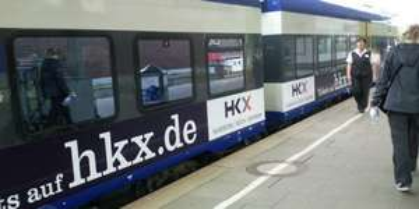 HKX WOW-Tage Anfang November auf Strecke Hamburg - Köln vice versa